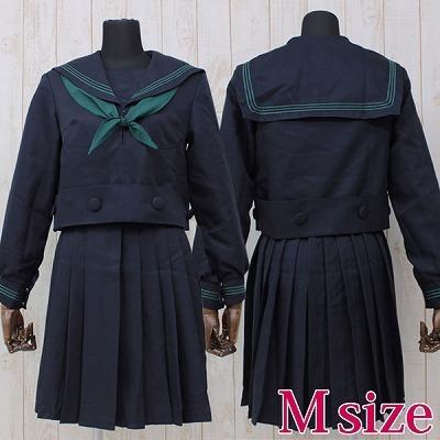 大阪の私立女子校セーラー服(冬服) M